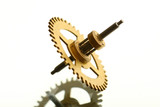 mechanical clock gear