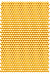 Bee honeycombs pattern