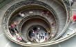 Leinwanddruck Bild - Spiral staircase