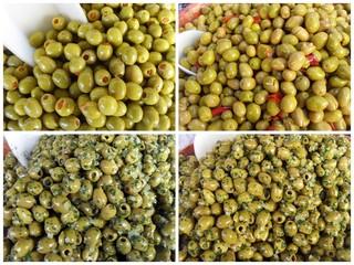 variétés d'olives vertes provençales