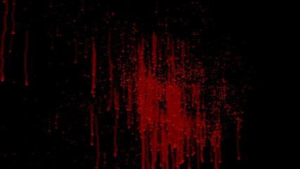 animated blood splat complete with matte