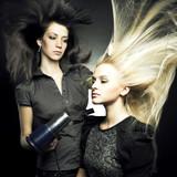 Fototapety Woman in a beauty salon