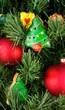 Christmas cookies on the tree
