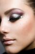 Beautiful Woman Face.Perfect Makeup