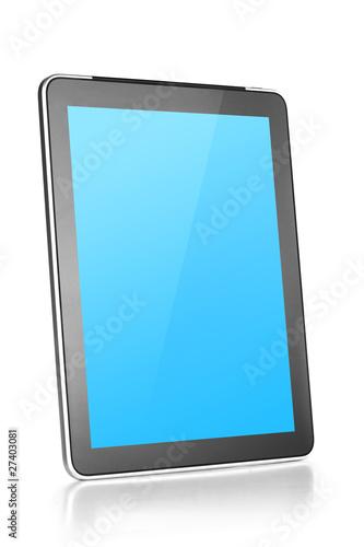 Leinwanddruck Bild Touch screen tablet computer