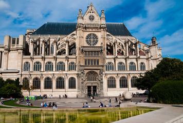 Saint Eustache church in Paris.