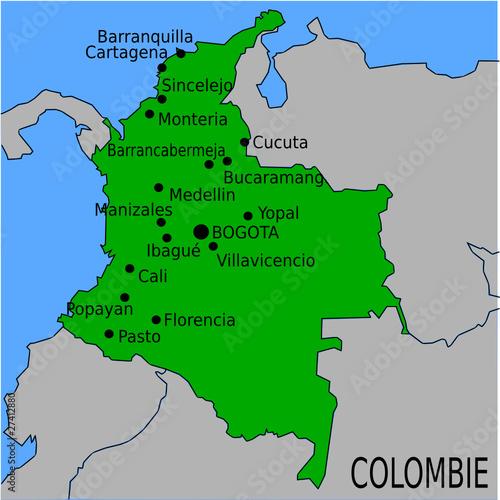 l'Ambassade de France a Bogota, Colombie