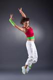 modern dance in studio