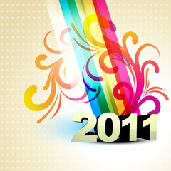 vector new year