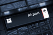 Airport - Hinweisschild
