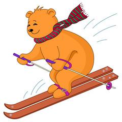 Teddy-bear skies