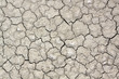 Dry soil with crack