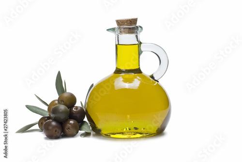 Aceite de oliva para una vida sana.