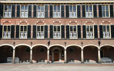 Dutch Parliament Binnenhof in The Hague