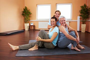Frauen im Fitnesscenter