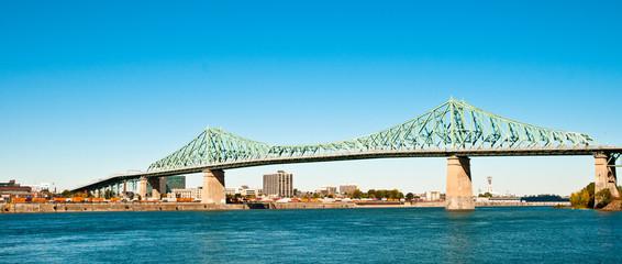 Pont Jacques Cartier, Montréal, Canada.
