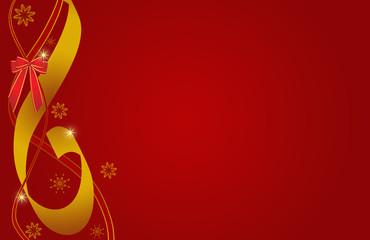 Christmas, Weihnachten, Band, schleife, rot