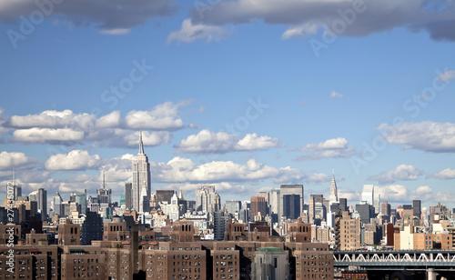 Foto op Aluminium New York The New York City skyline