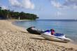 Crescent Beach in the Caribbean