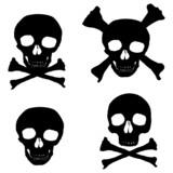 skulls & crossbones poster