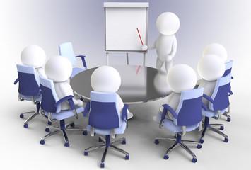 business konzept - vortrag