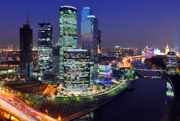 City district, Moscow, Russia