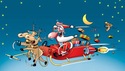 Der Weihnachtsmann gibt Schub!