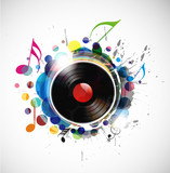 Fototapety vinyl record