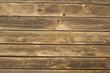 Old used wooden battens