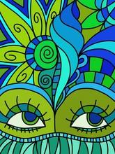 abstrakte Karneval