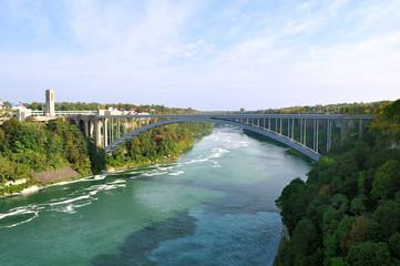 Rainbow Bridge - Niagara Falls, USA