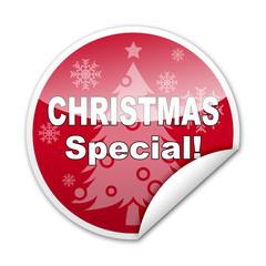 Pegatina CHRISTMAS SPECIAL! con reborde