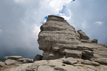 The Sphinx from Bucegi Mountains
