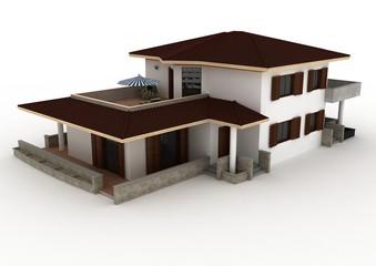 Villa Render 2
