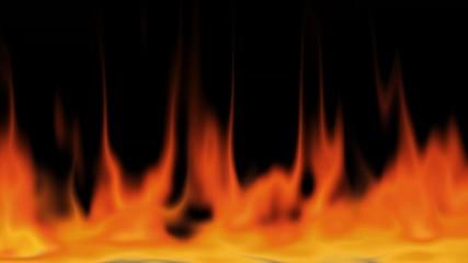 Feuer und Flamme + alpha mask