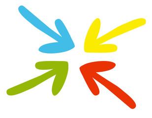 Flechas colores 1