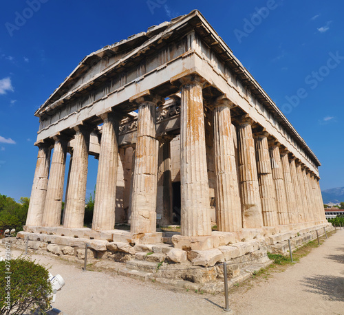 The temple of Hephaestus, Athena, Greece