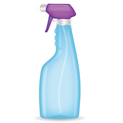 Spray bottle on a isolated background,vector