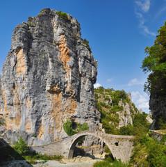 Stone bridge in Zagoria, Greece