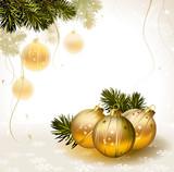 Fototapety light Christmas background