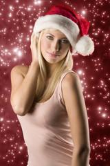 blond girl noel