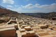 The ancient Jewish cemetery on the Olive mountain