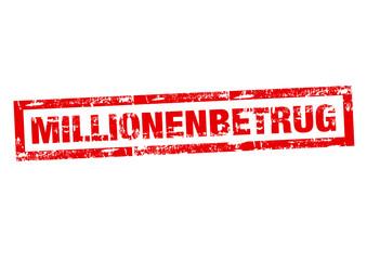 Millionenbetrug