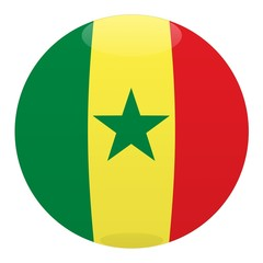 boule senegal ball drapeau flag