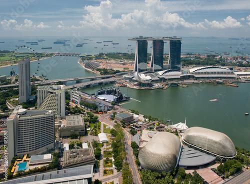 Plexiglas Singapore Panorama of Singapore