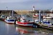 Port de La Cotinière et ses deux phares sur l'île d'Oléron