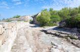 Chufut Kale ancient cave settlement (Crimea, Ukraine). poster