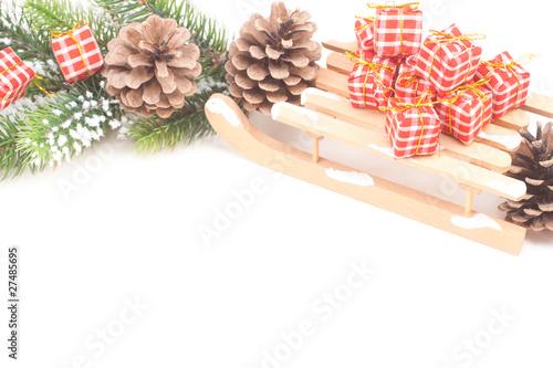 weihnachtlicher rahmen von angela shirinov lizenzfreies. Black Bedroom Furniture Sets. Home Design Ideas