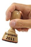 warranty 2011 poster