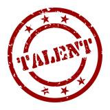 stempel talent I poster